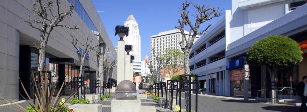 Los Angeles Omni Hotel shuttle