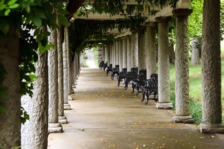 Visiting Maymont Gardens