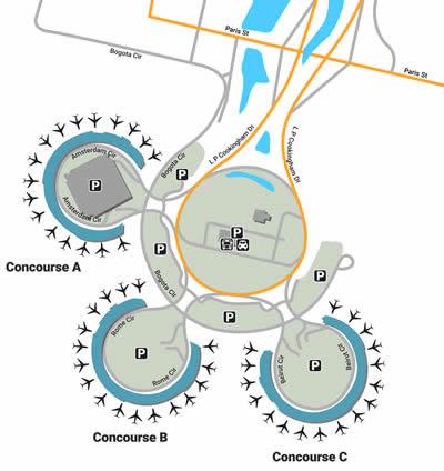 MCI airport terminals