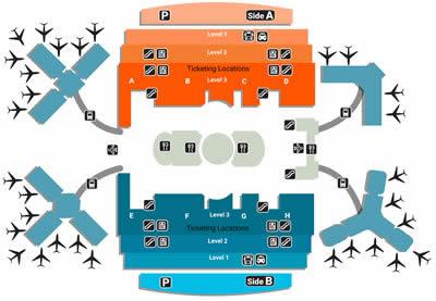 MCO airport terminals