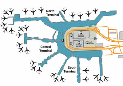 MIA airport terminals