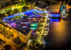 Boat Up Restaurants and Bars in Miami