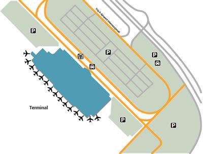 MLA airport terminals