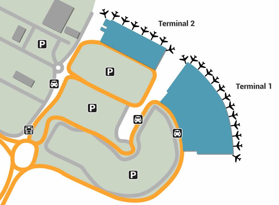 Mauritius airport terminals