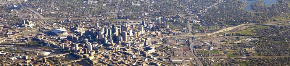 Minneapolis MSP shuttles in terminals