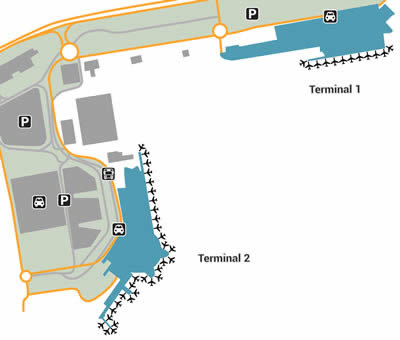 NCE airport terminals