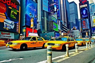 Taxi and shuttles in NYC