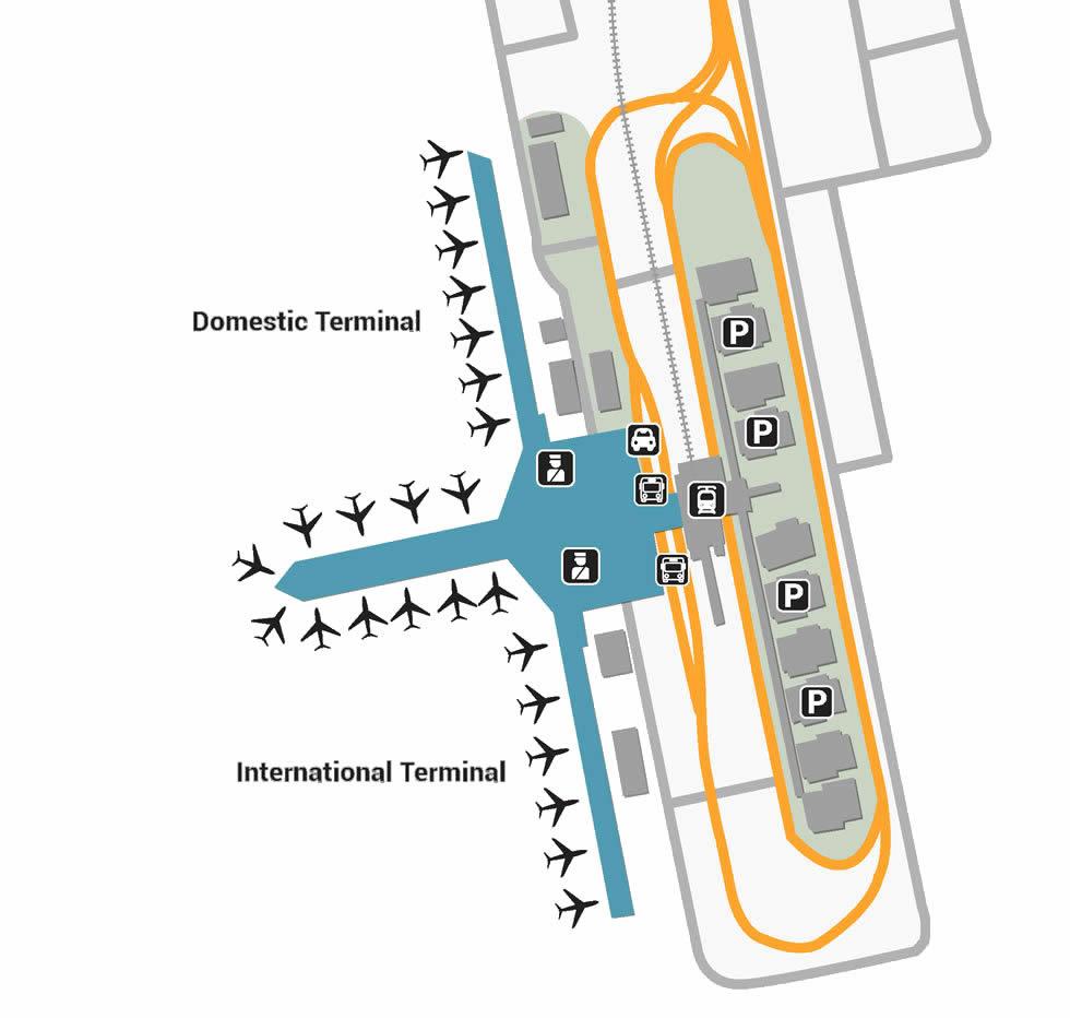 Centrair Nagoya airport terminals
