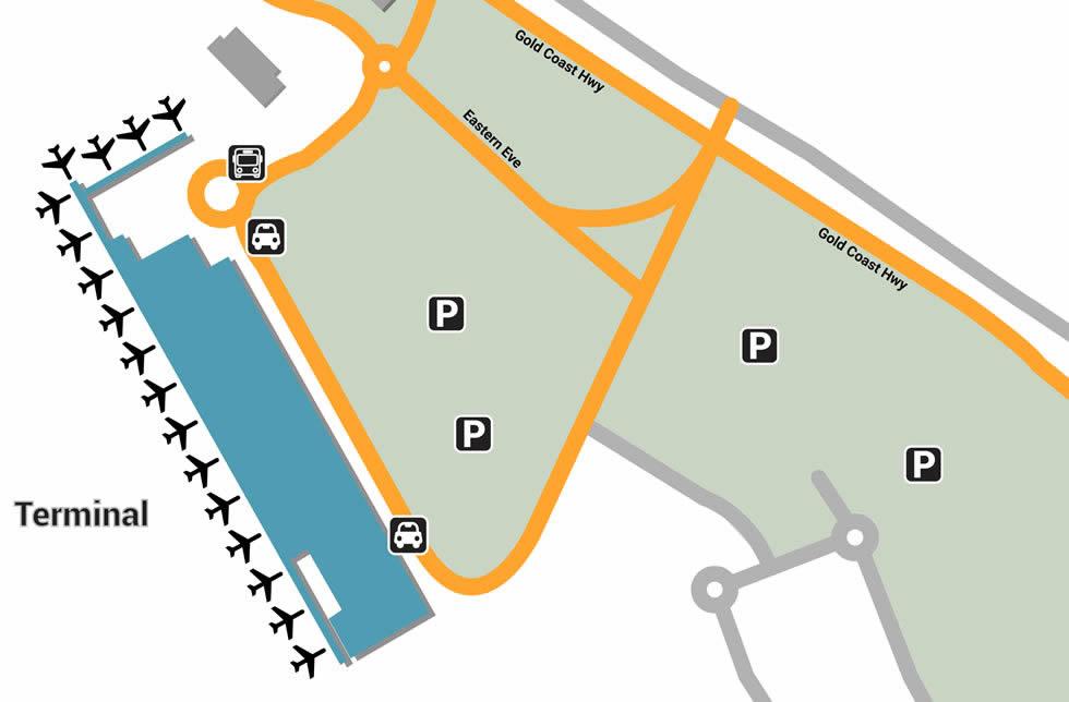 OOL airport terminals