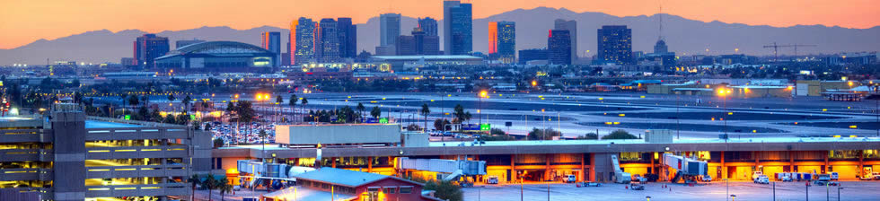 PHX airport shuttle transfers