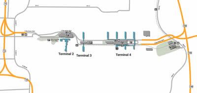 PHX airport terminals