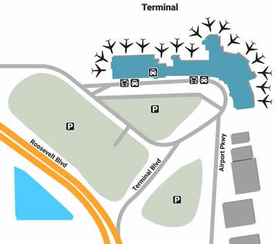 PIE airport terminals