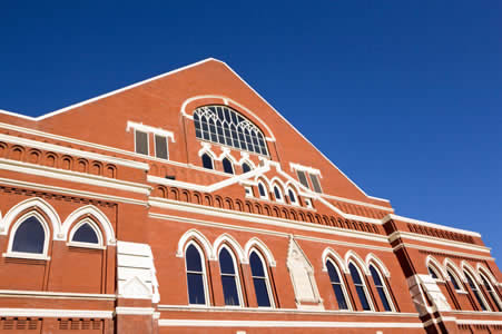 Visiting Ryman Auditorium
