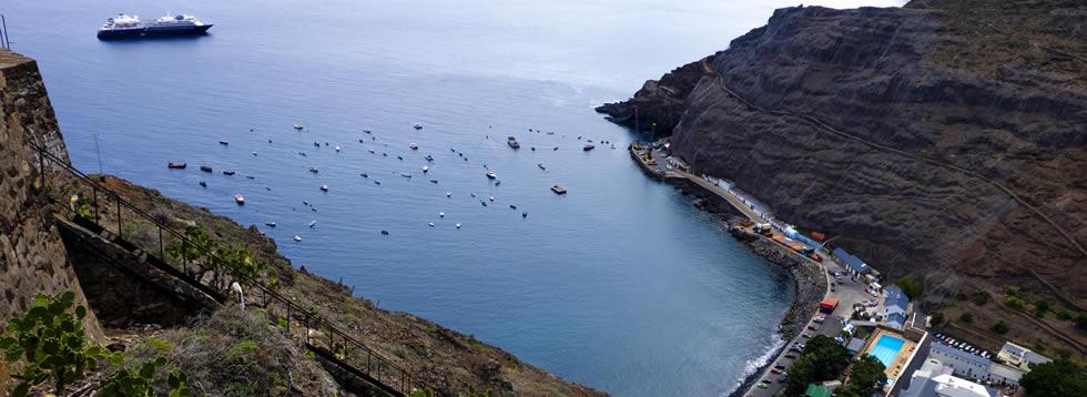 Saint Helena Port shuttles