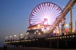 Amusement Park on the Santa Monica Pier