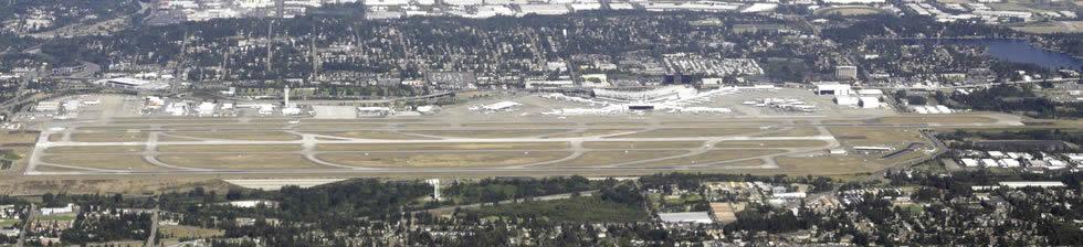 Seattle SEA shuttles in terminals