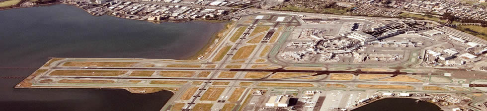 San Francisco SFO shuttles in terminals