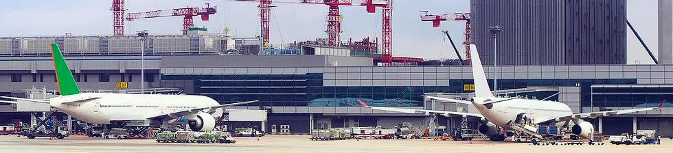 Singapore Changi airport shuttles in terminals