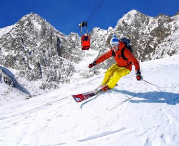 Vacations to ski resorts