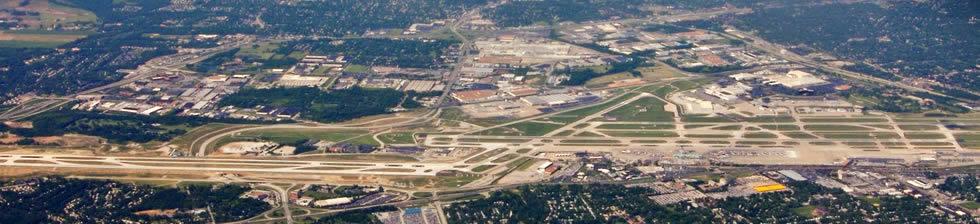 St. Louis STL shuttles in terminals