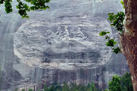 Sightseeing at Stone Mountain Park