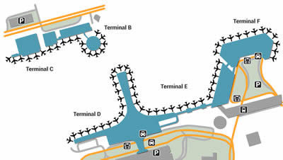 SVO airport terminals