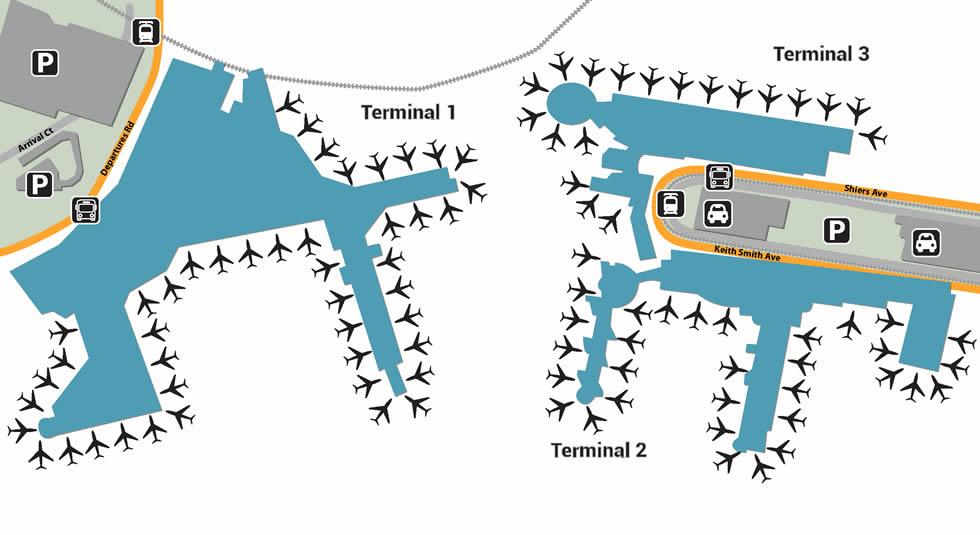 SYD airport terminals