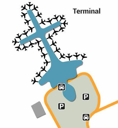 SZX airport terminals