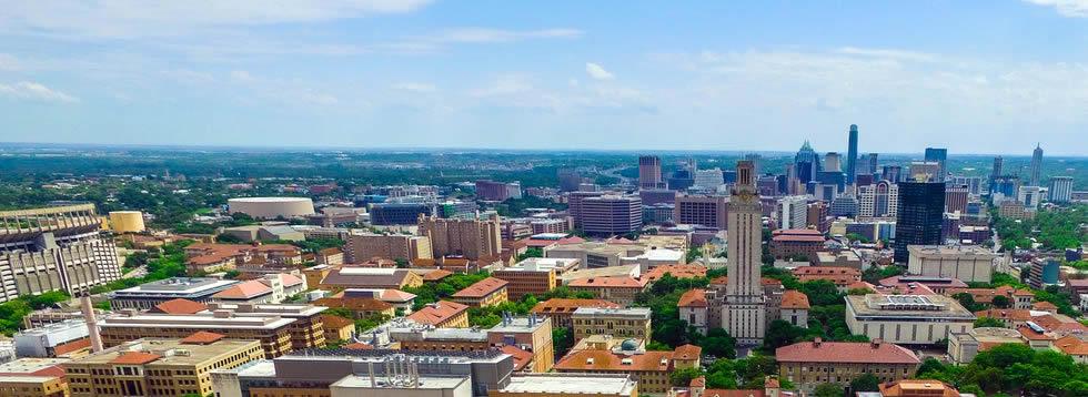 Texas University shuttles