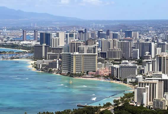 Honolulu airport pick up