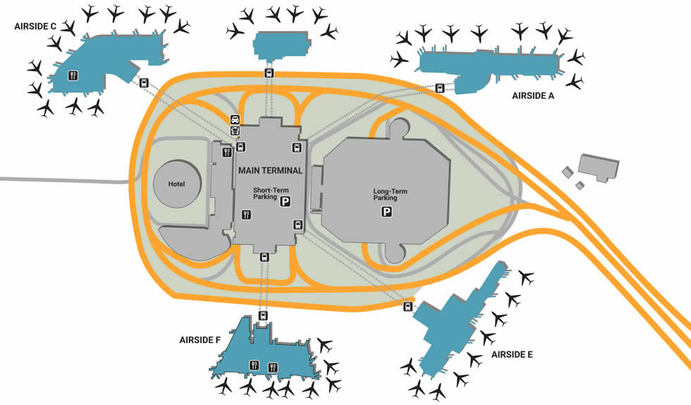TPA airport terminals