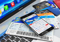 Bringing your identification and travel tickets