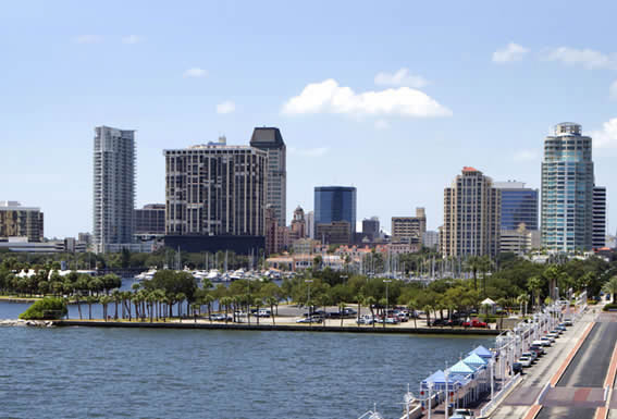 St. Pete airport limo rides