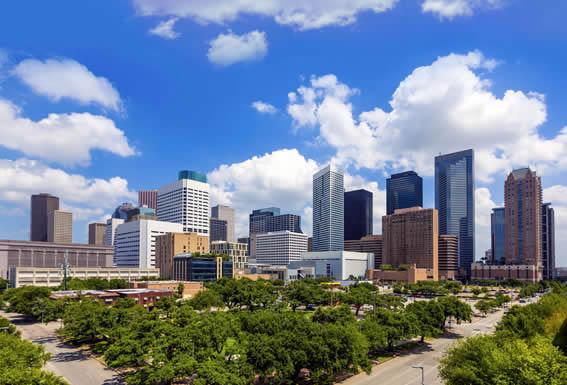 Houston downtown drop off