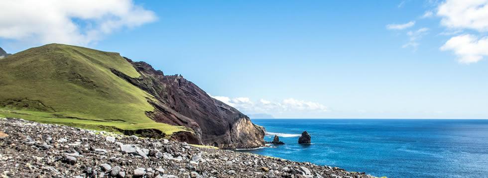 Tristan da Cunha Island shuttles