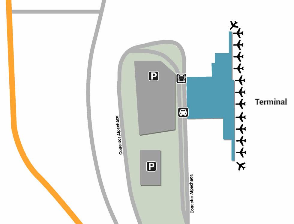 UIO airport terminals