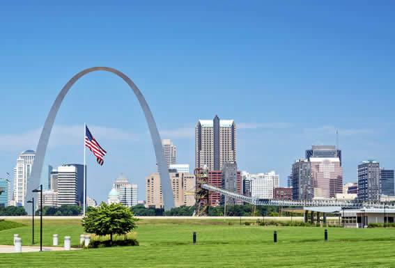 St. Louis airport drop off