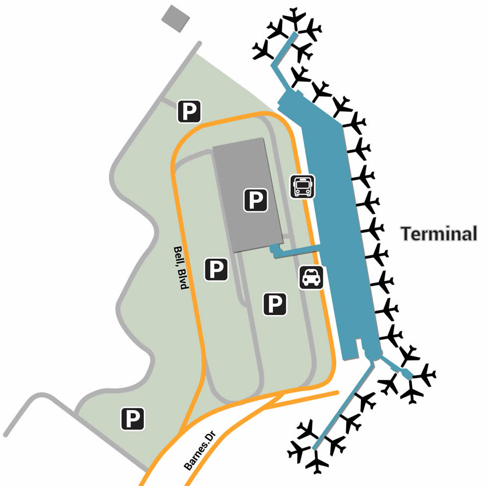 YHZ airport terminals