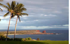 Lanai shuttle to the airport