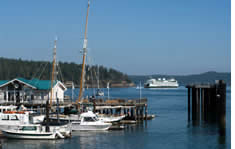 Friday Harbor shuttle to the airport