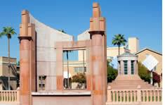 Arizona State University shuttle to the airport