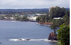 Hilo Cruise Port shuttle to the airport