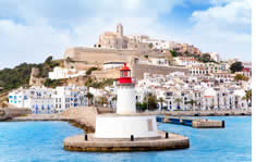 Ibiza shuttle to the airport
