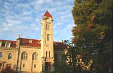 Indiana University Bloomington shuttle to the airport