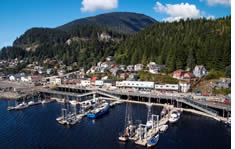 Port of Ketchikan shuttle to the airport