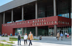 New Orleans Morial Convention Center shuttle to the airport