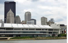 David L. Lawrence Convention Center shuttle to the airport