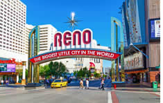 Reno-Sparks Convention Center shuttle to the airport