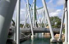 Universal Studios Florida shuttle to the airport