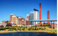 Birmingham-Jefferson Convention Complex shuttle to the airport